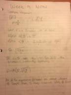 ECON 370 - Class Notes - Week 9