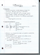 ISE 112304 - Class Notes - Week 8