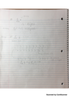 MATH 205 - Class Notes - Week 9