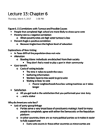 POLS 207 - Class Notes - Week 7