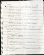 PSY 3401 - Class Notes - Week 6