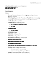 ANSC 103 - Study Guide