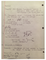 CHE 232 - Class Notes - Week 12