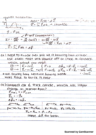 UMB - PHYS 161 - Class Notes - Week 8