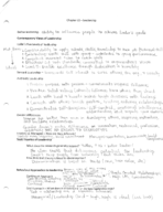 MGMT 3610 - Class Notes - Week 10
