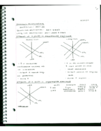 ECON 1040 - Class Notes - Week 11