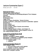 BSCI  160 - Study Guide
