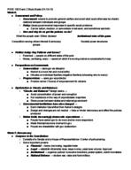 Long Beach State - POSC 100 - Study Guide - Midterm