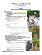 CBH 4024 - Study Guide