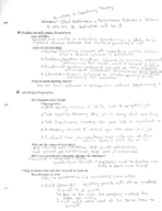 MGMT 3610 - Class Notes - Week 12