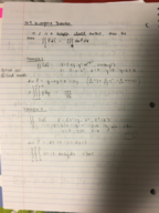 LA Tech - MATH 244 - Class Notes - Week 7
