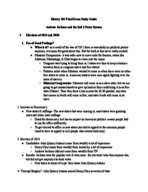 HIST 103 - Study Guide