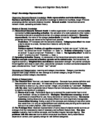 PSYX 280 - Study Guide