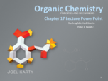 ETSU - CHEM 2020 - Class Notes - Week 7