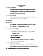 ACCT 2010 - Study Guide
