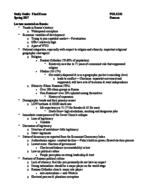 POLS 241 - Study Guide