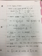 LA Tech - MATH 244 - Class Notes - Week 8