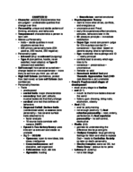 PSY 201 - Study Guide