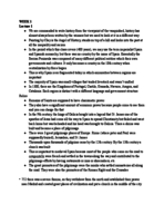 HIST 129 - Study Guide