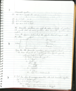 What does each kinematic equation mean?
