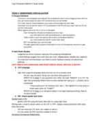 PSY 134 - Study Guide