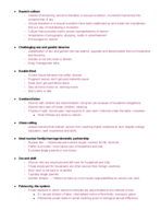 WGSS 102 - Study Guide