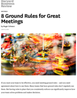 How can you make your team meetings more effective?