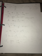 CHM 2210 - Class Notes - Week 18