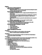 PSY 335 - Study Guide