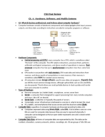 ITSS 3300 - Study Guide