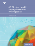 How do inquiry-based investigations support the ap physics 1 and 2 curriculum framework?