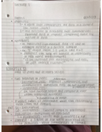 PSYCH 2220 - Class Notes - Week 1
