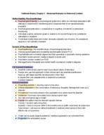 PSY 3330 - Class Notes - Week 1