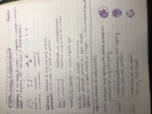 CHE 1101 - Class Notes - Week 1