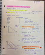 ECON 2214 - Class Notes - Week 2