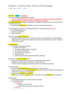PSY 3210 - Class Notes - Week 1