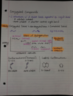 What is the stability of conjugated compounds?