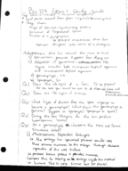 BY 124 - Study Guide