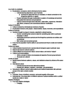 ANTH 1102 - Study Guide