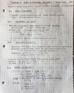RPI - CHE 2010 - Class Notes - Week 1