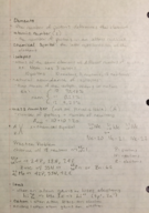 CHEM 1211 - Class Notes - Week 3