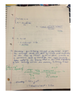PHY 111 - Class Notes - Week 3