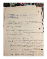 PSY 315 - Class Notes - Week 3