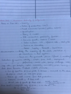 ECON 203 - Class Notes - Week 1