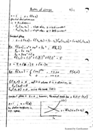 MATH 2010 - Class Notes - Week 2
