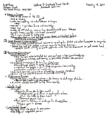 HIS 315 - Class Notes - Week 3