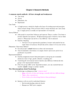 PSY 11762 - Class Notes - Week 1
