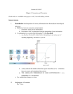 PSY 1001 - Class Notes - Week 3