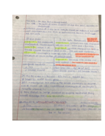 ACCT 2301 - Class Notes - Week 2