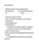 PSC 1101 - Study Guide